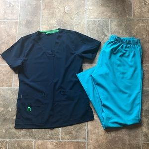 Carhartt Workflorce Size Medium Scrub Set